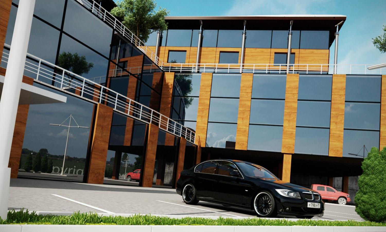 3d model parking